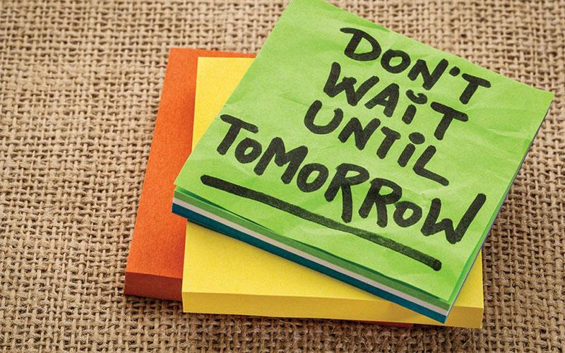 fighting procrastination